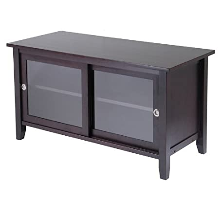 Winsome TV Media Stand with Sliding Doors (92044) PNo: 92044