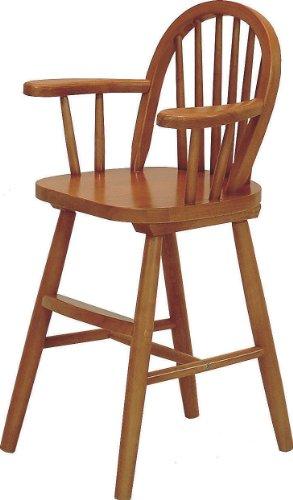 不二貿易 ウインザー ベビー チェア 木製 アンティーク ブラウン 51860