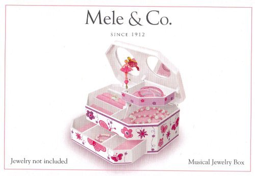 Girl's Musical Jewelry Box Picture