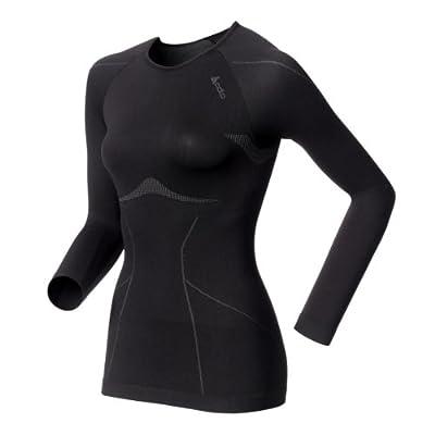 Odlo Damen Unterhemd Long Sleeve Crew Neck Evolution Light by Odlo