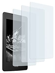 3 x mumbi Displayschutzfolie Amazon Kindle Paperwhite Schutzfolie