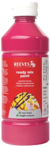 reeves-500ml-ready-mix-paint-cerise