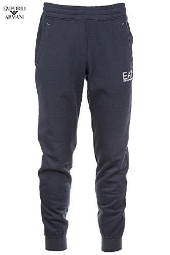 EMPORIO ARMANI EA7 Pantalone in felpa pesante uomo 6XPP54 PJ07Z - S, BLU NOTTE 19-4218