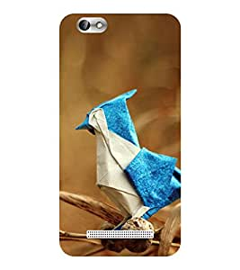 Evaluze bird Printed Back Cover for LENOVO A 2020