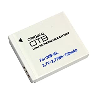 Battery for Canon PowerShot SX170 IS (Li-Ion)