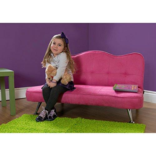 Rose Junior Sofa Lounger, Pink