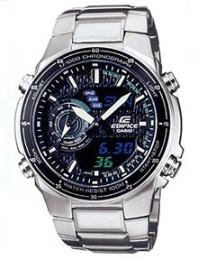Casio Edifice Men's Active Dial Dress Watch EFA-131D-1A2VDF
