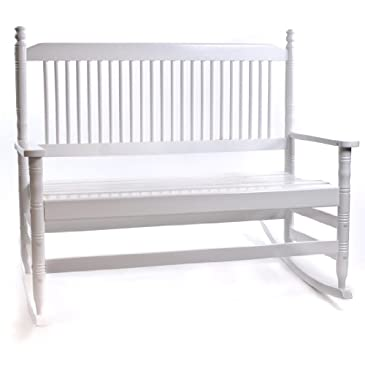 4 39 White Bench With Runners RTA Chairs Benches Stools