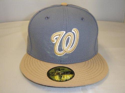 New Era MLB Washington Nationals Custom 2 Tone Cap 59Fifty N