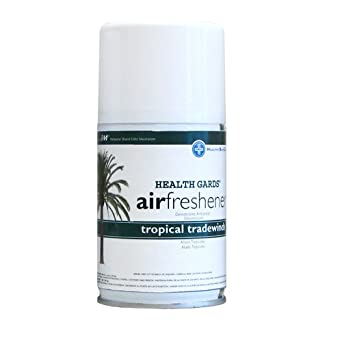 Hospeco Health Gards 07908 Tropical Tradewinds Metered Aerosol Air Freshener, 7 oz Can (Case of 12)
