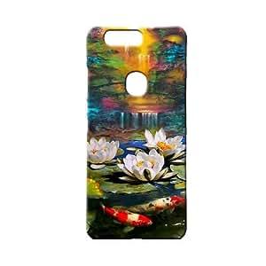 BLUEDIO Designer 3D Printed Back case cover for Huawei Honor V8 - G1561