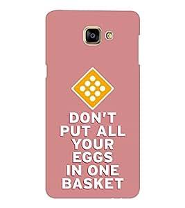 EPICCASE eggs in basket Mobile Back Case Cover For Samsung Galaxy A9 (Designer Case)