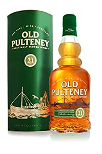 Old Pulteney 21 Year Old Scotch Whisky 70 cl