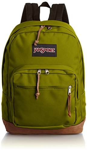 """Jansport Right Pack Active Backpack - Forest Moss - 18""""h X 13""""w X 8.5""""d"""