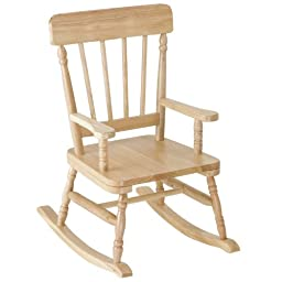 Levels Of Discovery Simply Classic Oak Finish Rocker