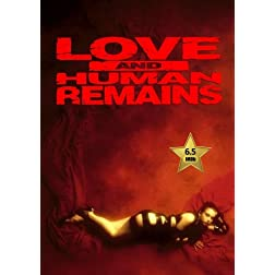 Love & Human Remains [VHS Retro Style DVD] 1993