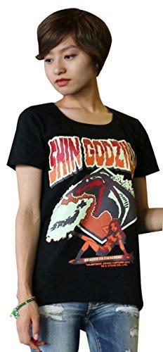 怪獣Tシャツ シン・ゴジラ 黒 サイズ:M