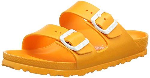 BirkenstockArizona EVA - Ciabatte Unisex - Adulto , Arancione (Orange (Neon Orange)), 38