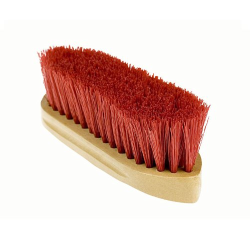 Horze-Wooden-Handle-Dandy-Brush-Red
