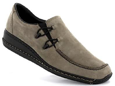 Rieker Doro 44361 femmes Mocassins cuir, gris, Taille 36