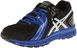 Asics Gel-Lil\' Craze Training Shoe (Little Kid/Big Kid),Black/Silver/Royal,1 M US Little Kid