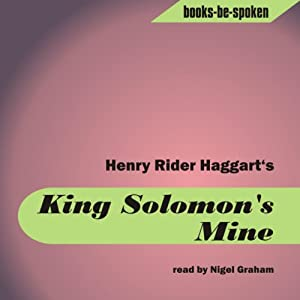 King Solomon's Mines Hörbuch