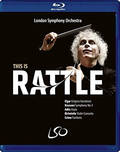 Blu-ray : SIR SIMON RATTLE - This Is Rattle (2 Discos)
