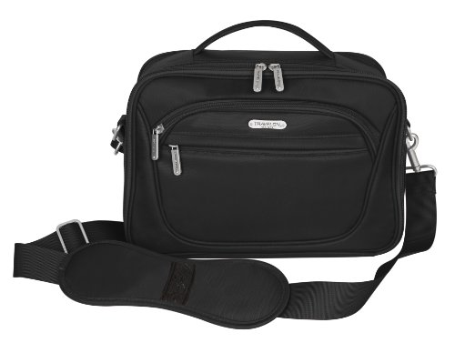 Travelon Mini Cosmetic Organizer/Travel Case, Black, One Size