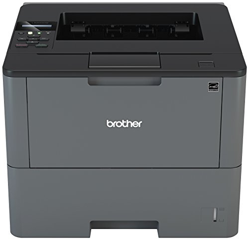 Brother Business Laser Printer with Wireless Networking, Duplex Printing, and Large Paper Capacity (HLL6200DW), Amazon Dash Replenishment Enabled