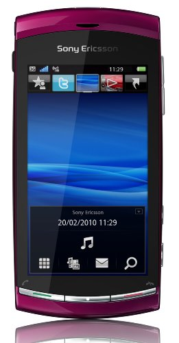 Sony Ericsson Vivaz Smartphone (UMTS, WLAN, 8.1 MP, HD-Video 720p) Venus Ruby, O2 Branding