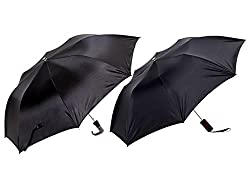 Jorss Unisex 2-Fold Umbrella - Black
