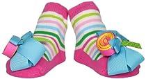 Mud Pie Baby-Girls Newborn Lollipop Sock, Multi-Colored, 0-12 Months