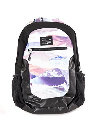 O' Neill Zaino Backpack Dynamic Bianco scomparto per laptop cintura toracica 32litri