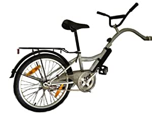 Terrabikes / 66074 Vélo suiveur pour enfant Argent