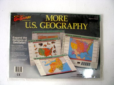 GeoSafari More U.S. Geography