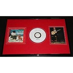 Burl Ives Signed Framed Rudolph Red Nosed Reindeer DVD & Photo Display -...