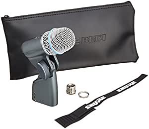 shure beta 56a supercardioid swivel mount dynamic microphone with high output. Black Bedroom Furniture Sets. Home Design Ideas