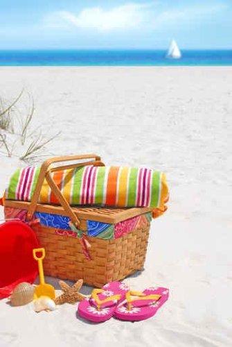 Seashell Flip Flops front-487241