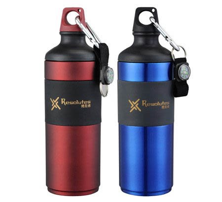 Travel Outdoor Stainless Steel Cups Water Bottle Water Cup Travel Cup Portable And Lightweight 650Ml