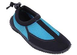 New Starbay Brand Children\'s Blue & Black Athletic Water Shoes Aqua Socks Size 1