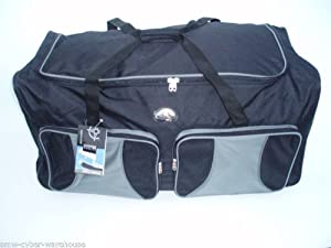 Extra Large 154ltr trolley holdall - grey from Sunrise