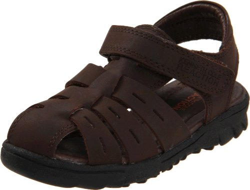Kenneth Cole Reaction Doing Climb 2 Fisherman Sandal (Toddler/Little Kid),Dark Brown,12 M Us Little Kid front-991410