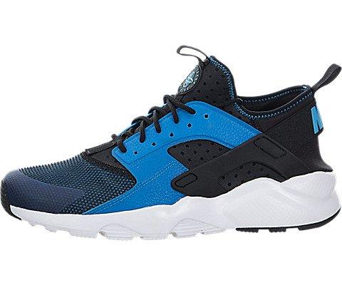 Nike Uomo Air Huarache Run Ultra scarpe da corsa blu Size: 44