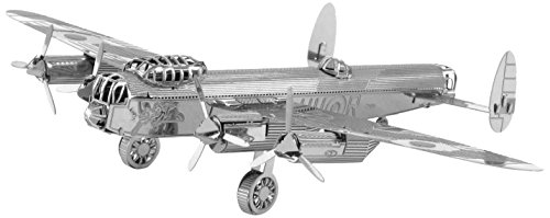 Fascinations Metal Earth 3D Metal Model Kits, Avro Lancaster Bomber