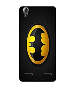 Lenovo A6000 Designer / Printed Back Cover -(batman)