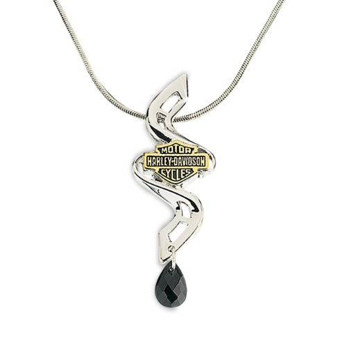 Sterling Silver Ladies Dangerous Curves Necklace
