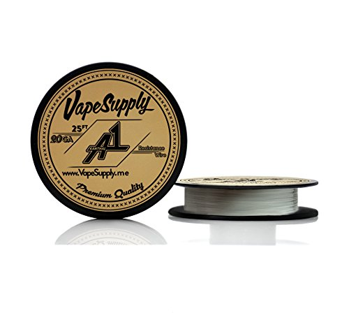 Kanthal 20 Gauge Awg A-1 Wire 25Ft Spool 0.81Mm , 0.814 Ohms/Ft Resistance
