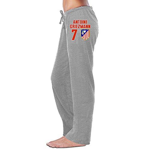 Bro-Custom Antoine #7 Griezmann Women Running Pants M Ash