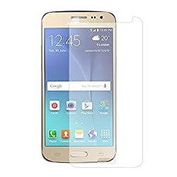 iKraft Premium 9H 0.3mm Tempered Glass with Curved Edges for Samsung Galaxy J2