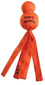 Kong WATER WUBBA Dog Fetch & Float Wet Toy Retriever Training LARGE (WW1)